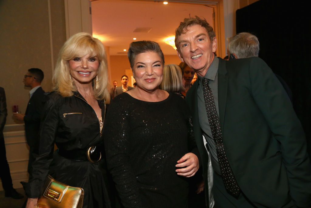 Loni Anderson, Mindy Cohn and Michael Patrick King