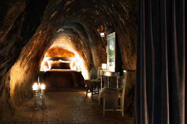 Silvermine suite in Sweden