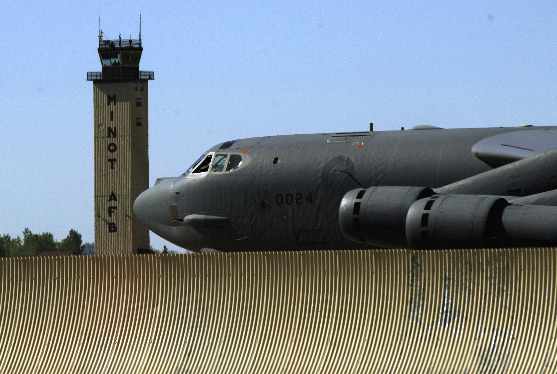 Minot Air Force Base North Dakora