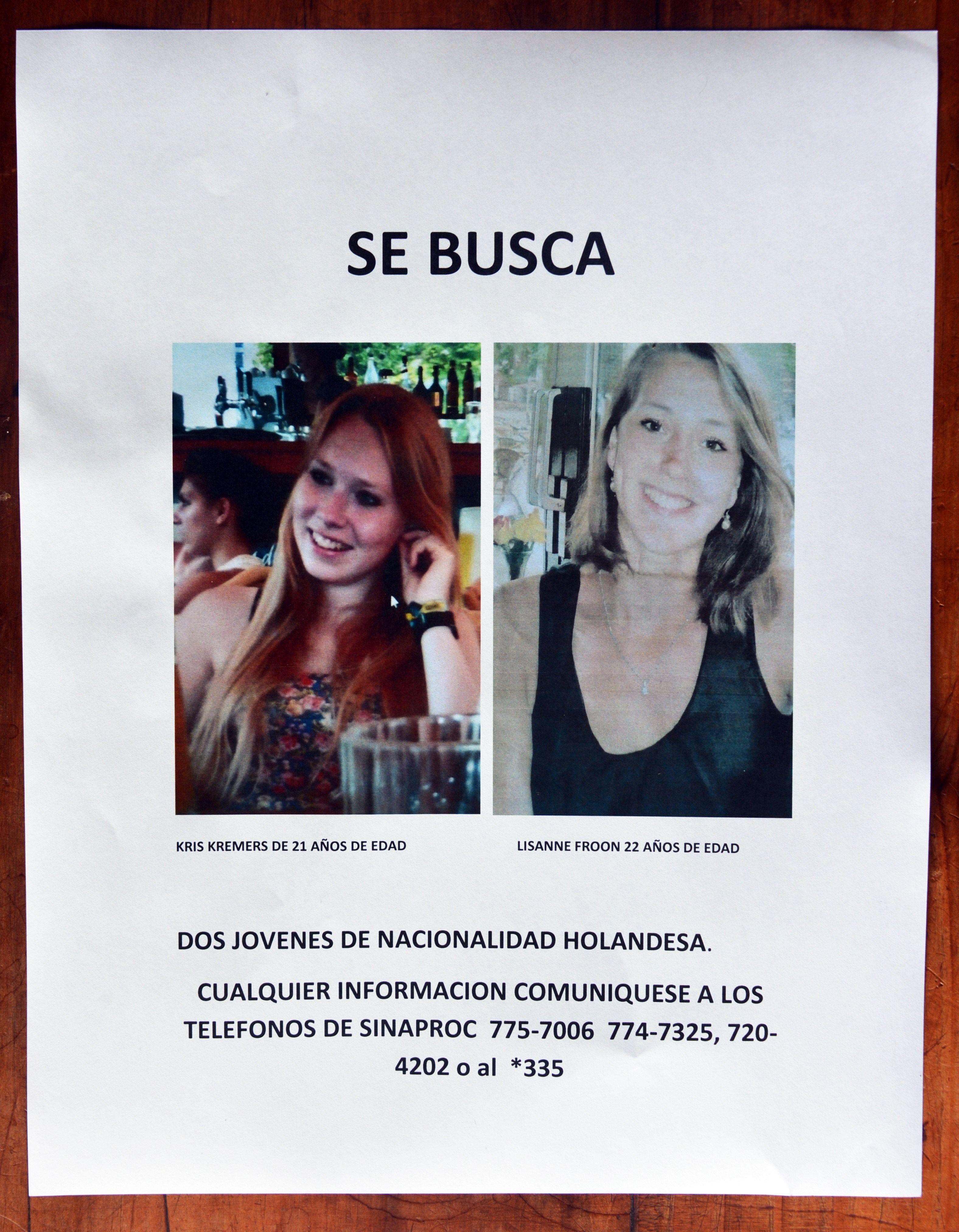 Dutch hikers missing in Panama