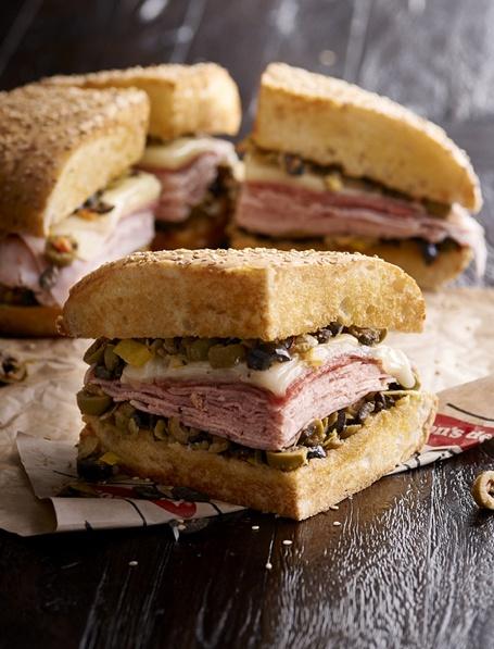 Muffaletta sandwich Jason's Deli