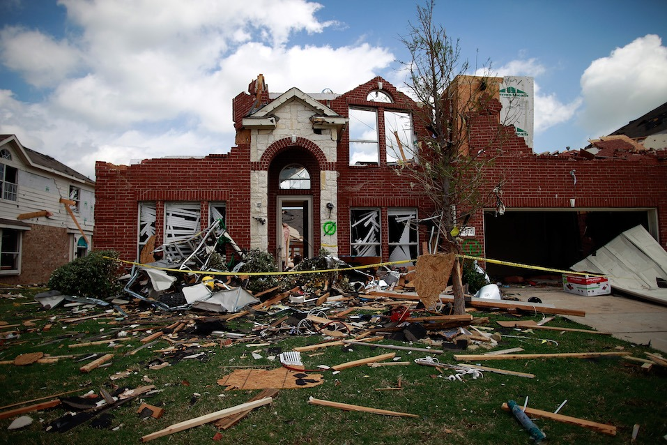 Multiple tornadoes touched down yesterday across the Dallas/Fort Worth area causing extensive damage