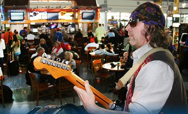 Live Music in Austin Airport