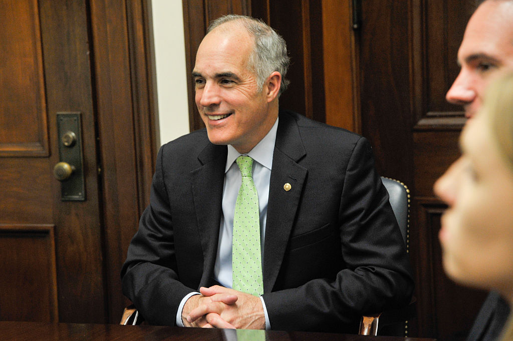 NAMM members including Chris Martin meet with Sen. Bob Casey in the Russell Senate Office