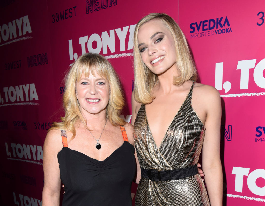 Tonya Harding and Margot Robbie attend NEON and 30WEST Present the Los Angeles Premiere of 'I, Tonya'