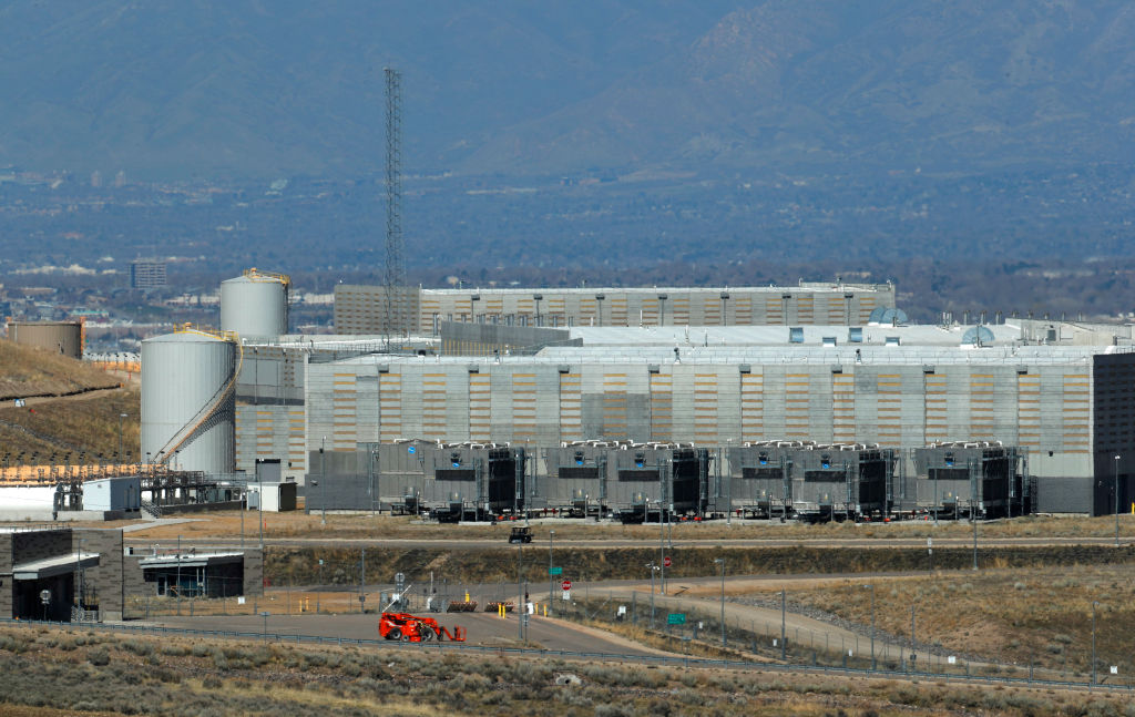 NSA Spy Data Collection Center in Utah