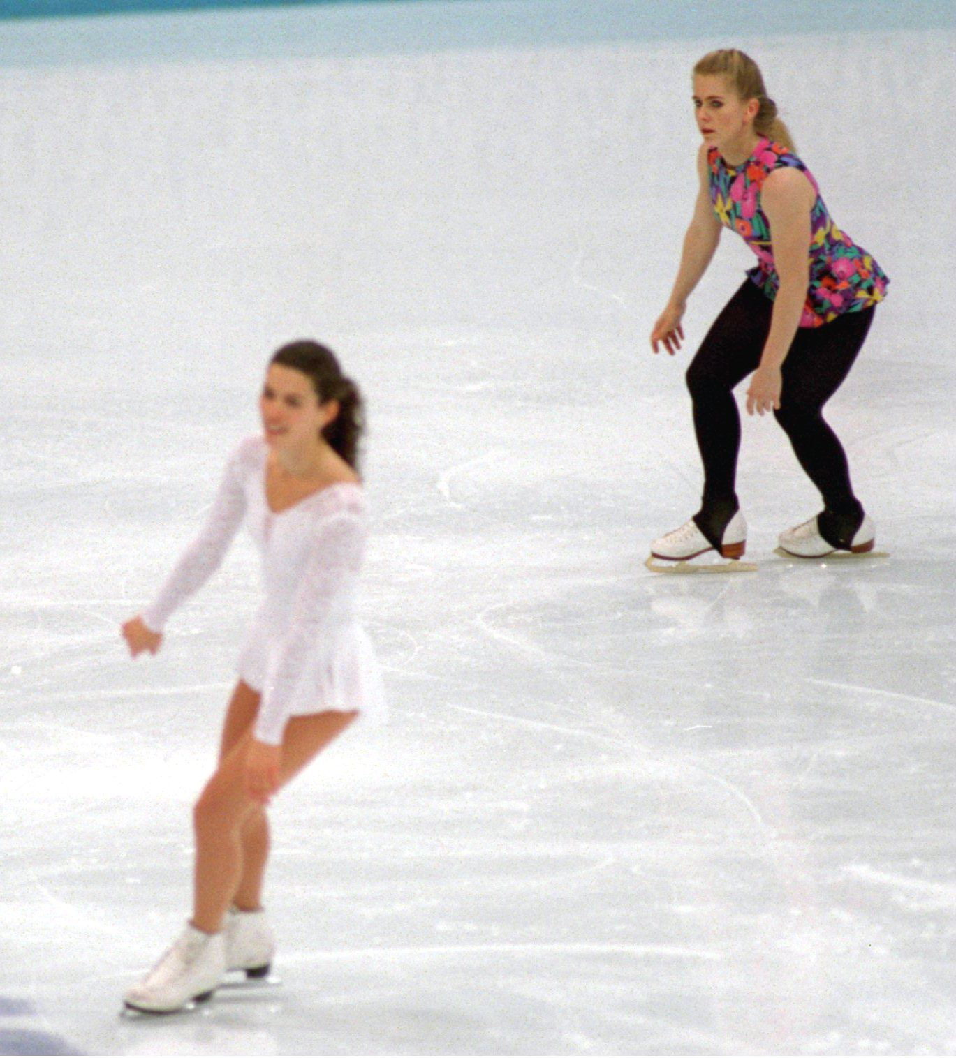 Nancy KERRIGAN and Tanya HARDING