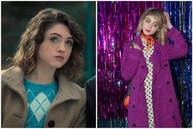 Natalia Dyer collage.