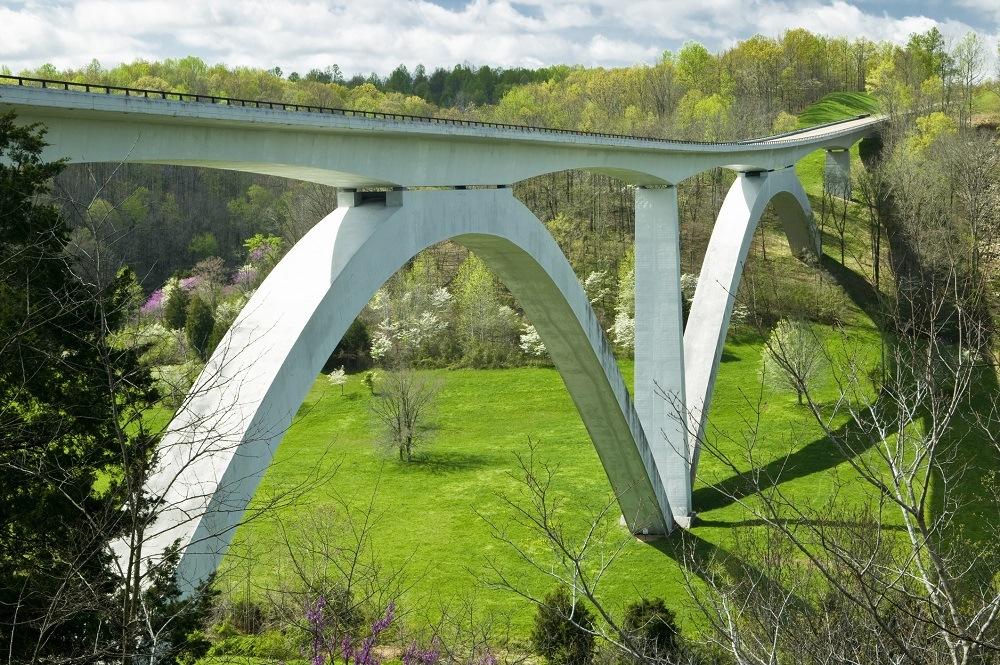 Natchez Trace Parkway Bridge in Tennessee
