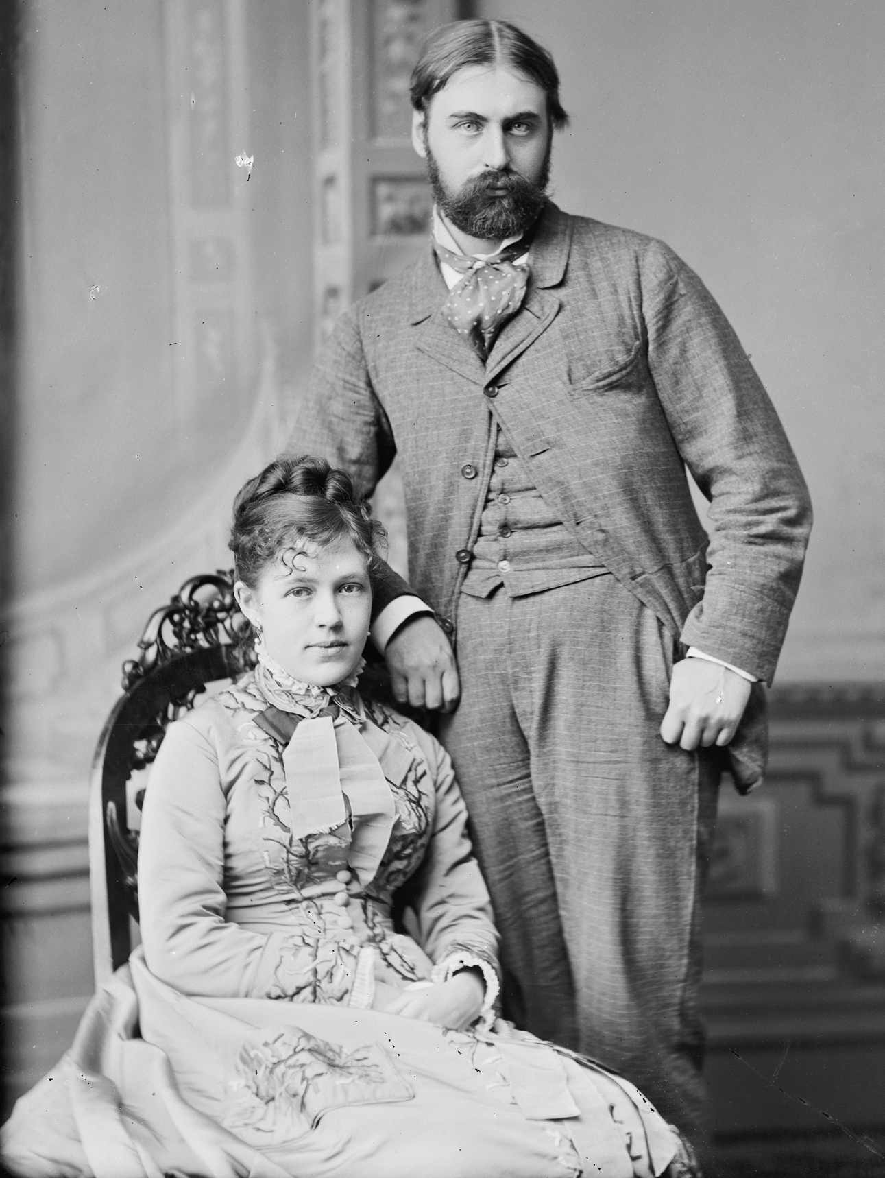 Nellie Grant and Algernon Sartoris