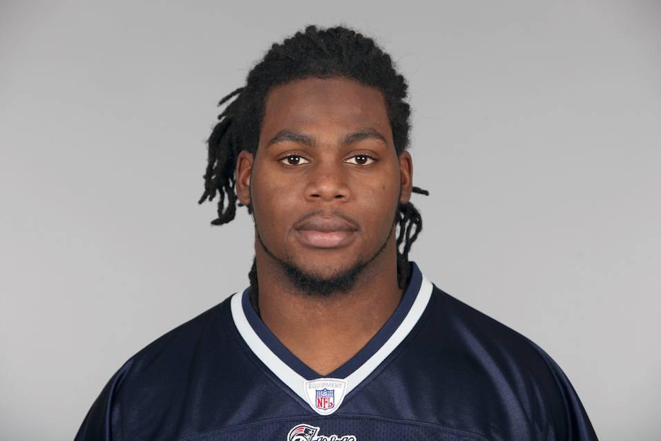 Jermaine Cunningham of the New England Patriots football team