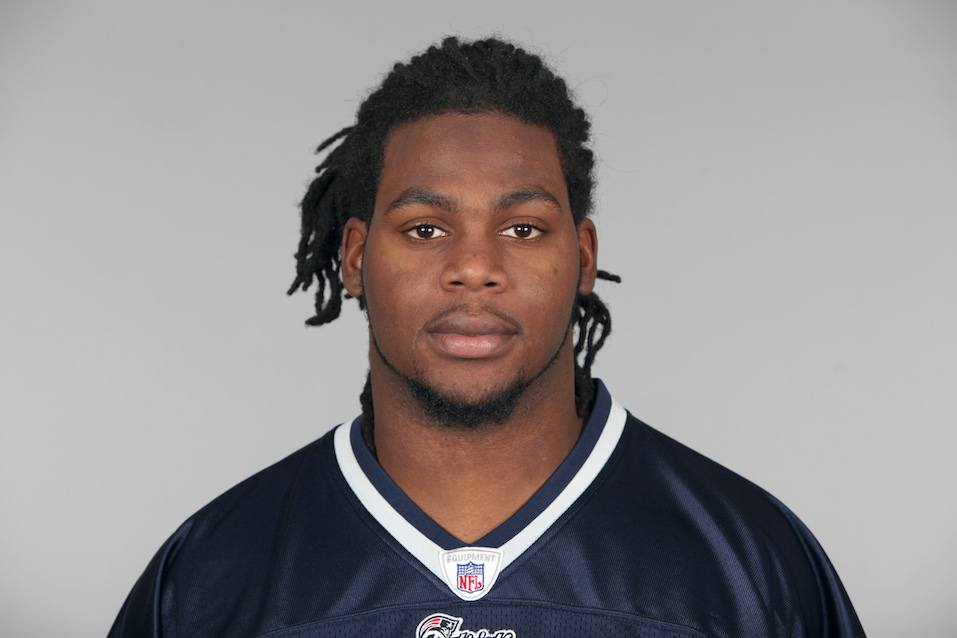 Jermaine Cunningham of the New England Patriots football team