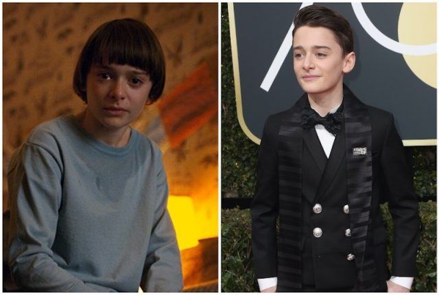 Noah Schnapp collage.