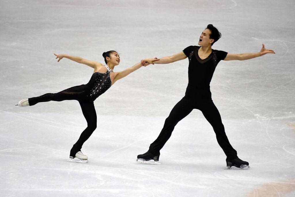 North Korean ice skaters Olympics