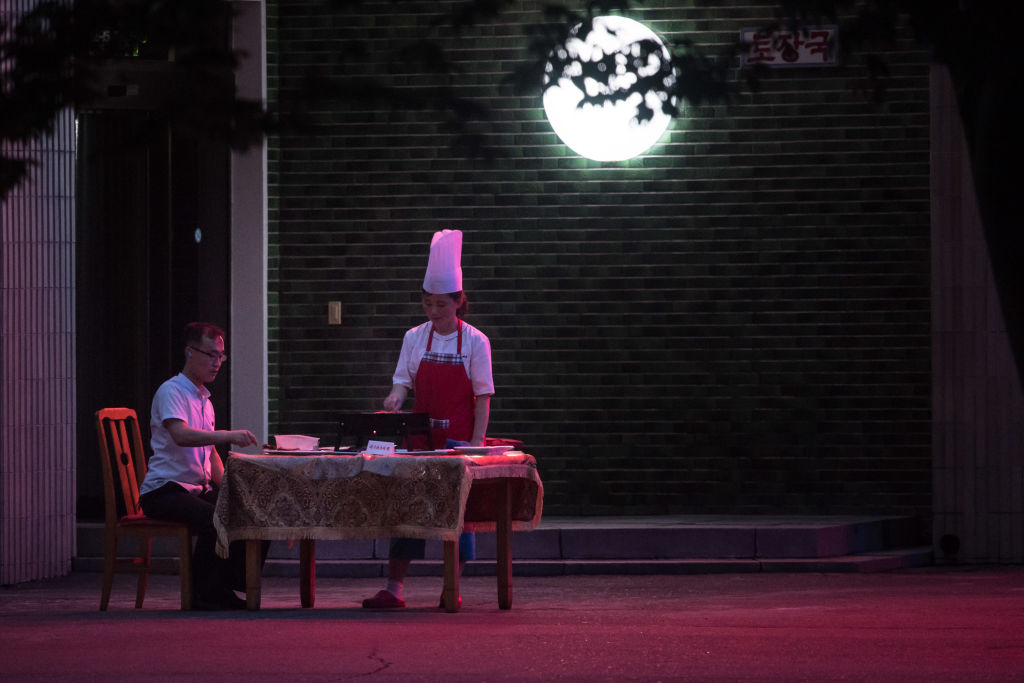 North Korea lifestyle restaurant