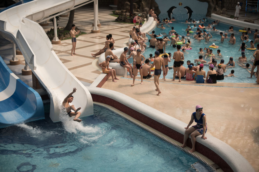 North Korea lifestyle water park