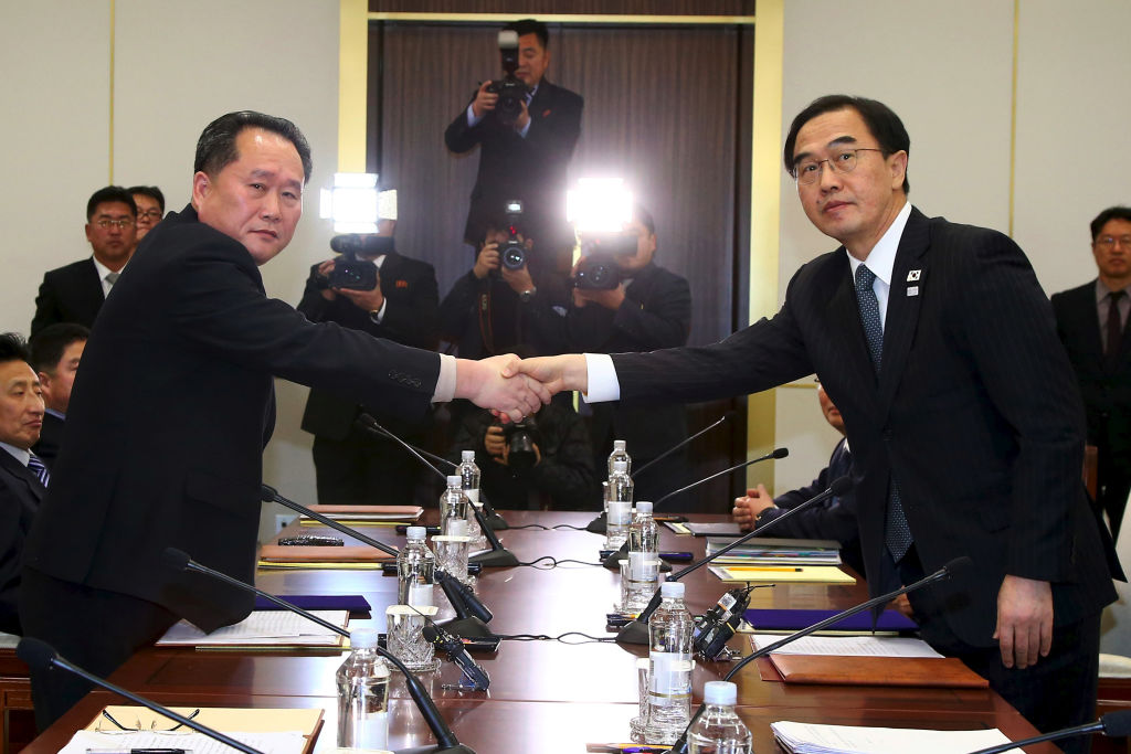 South and North Korea meet to discuss Olympics