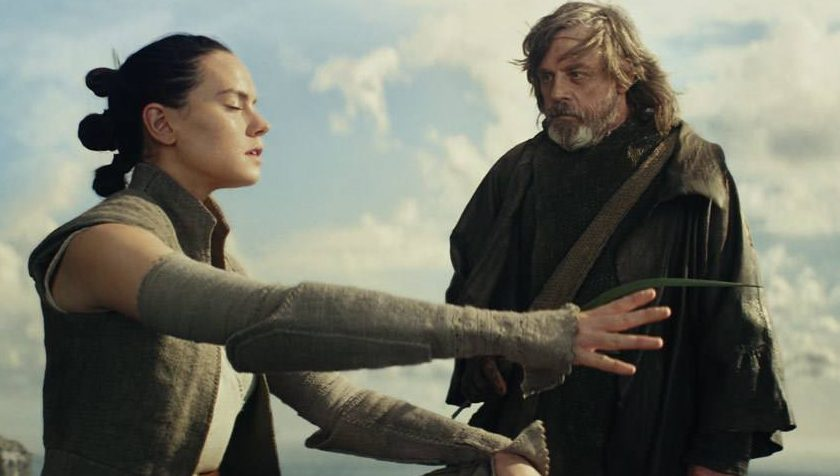 Luke tells Rey to reach out