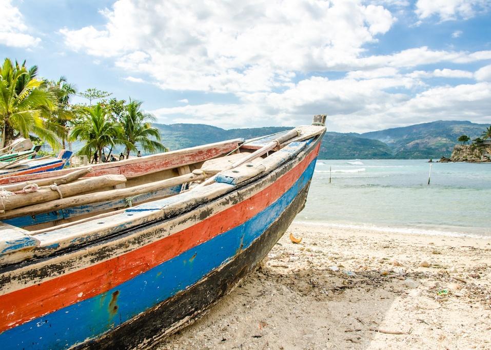 Old Fishing Boat, Jacmel, Haiti