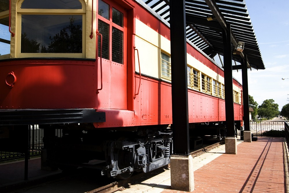 Plano rail station in Plano, TX