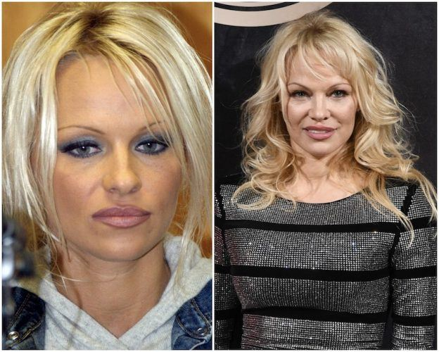 Pamela Anderson collage.