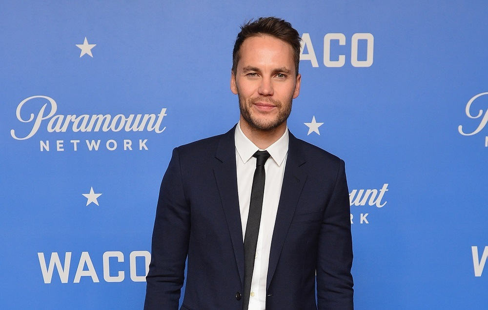 Actor Taylor Kitsch attends the world premiere of WACO