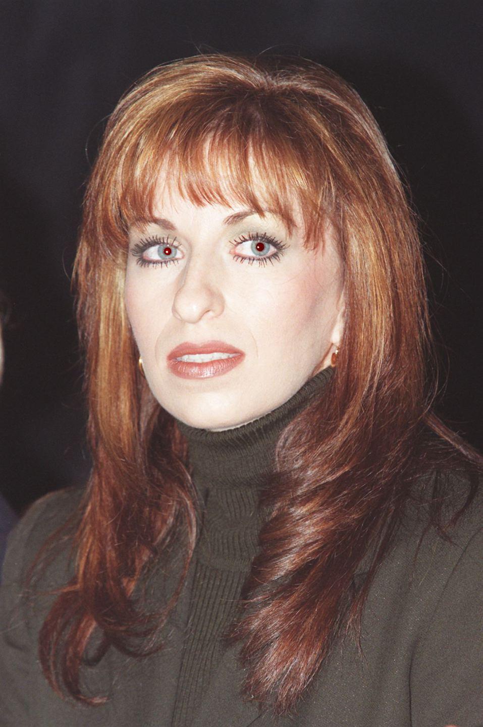 Paula Jones, who has accused US President Bill Clinton of sexual harrassment