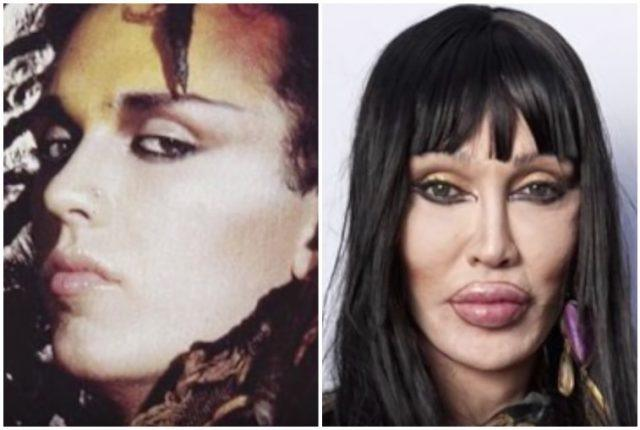 Pete Burns photo collage.