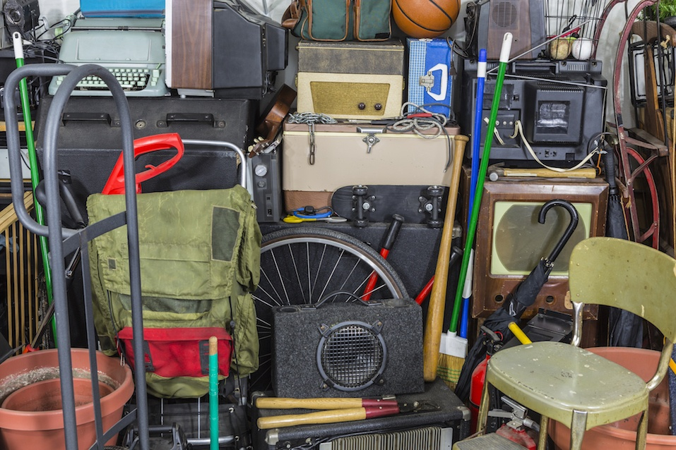 Pile of Vintage Objects
