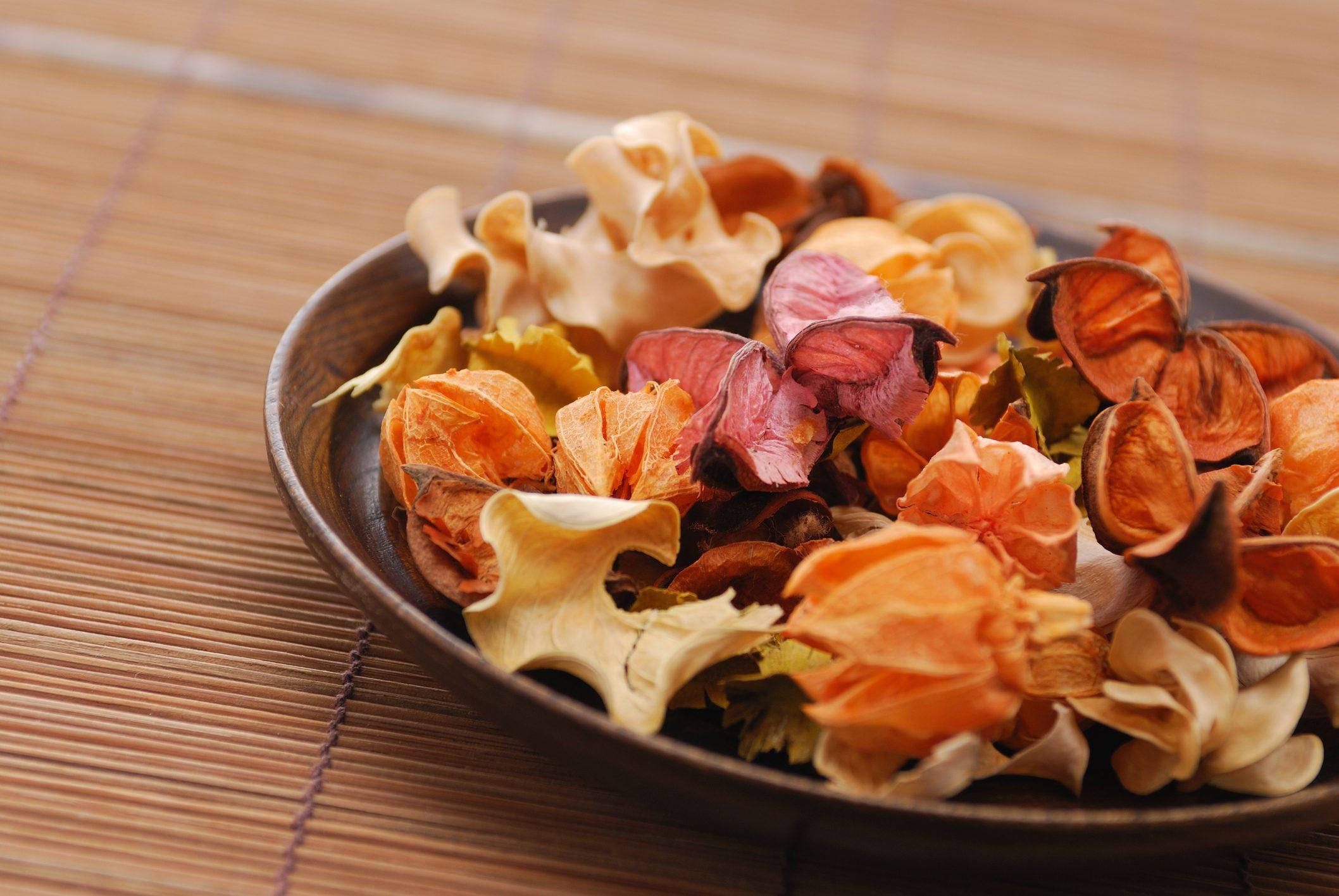Potpourri in a bowl