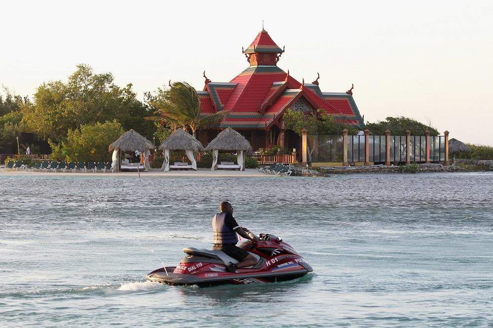 Sandals Resort on March 7, 2012 in Montego Bay, Jamaica