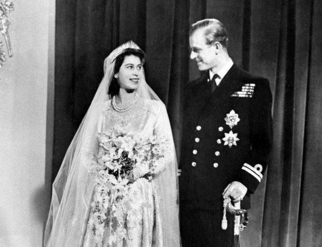 Princess Elizabeth's wedding to Prince Phillip.