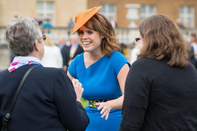 Princess Eugenie of York attends a special garden party.