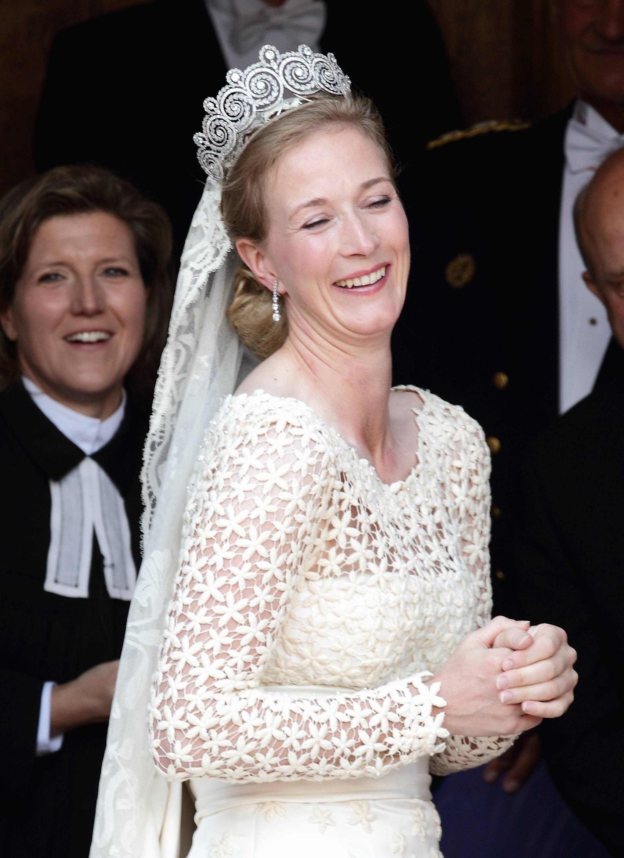 Princess Nathalie Zu Sayn-Wittgenstein-Berleburg Marries Alexander Johannsmann of Denmark Wedding
