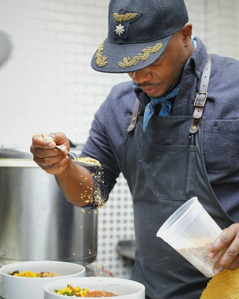 Chef Rawlston Williams
