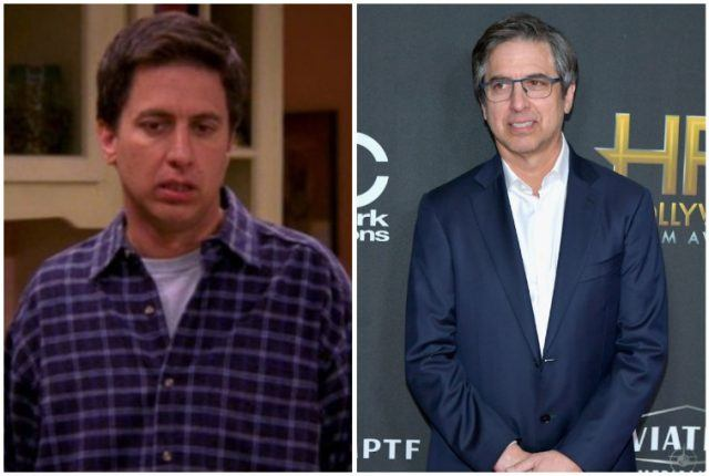 Ray Romano collage.