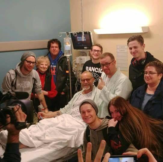 Richie Sully Kidney transplant