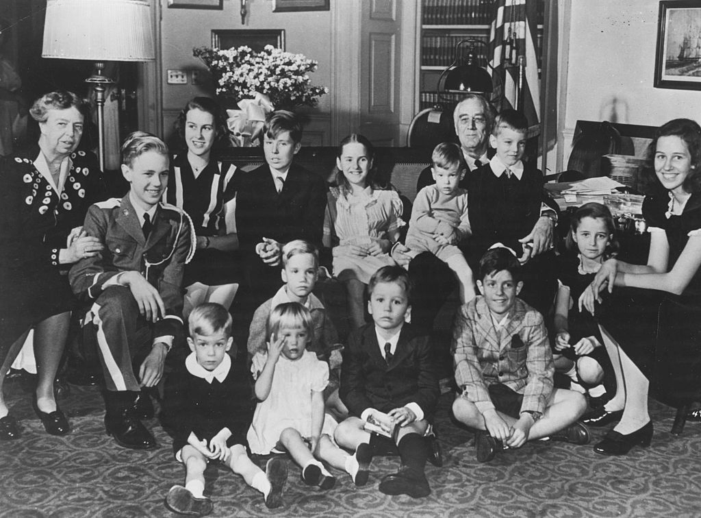 Franklin D Roosevelt And His Grandchildren