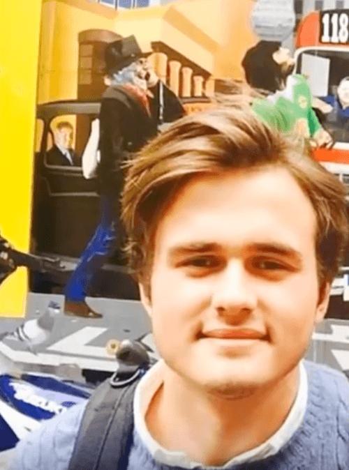 Rory Farquharson's selfie.