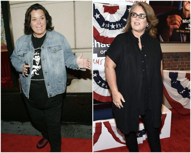 Rosie O'Donnell collage.