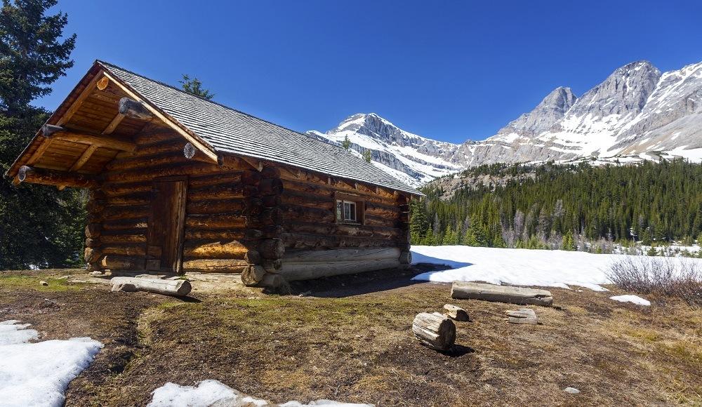 Canadian Rocky Mountains in Skoki region