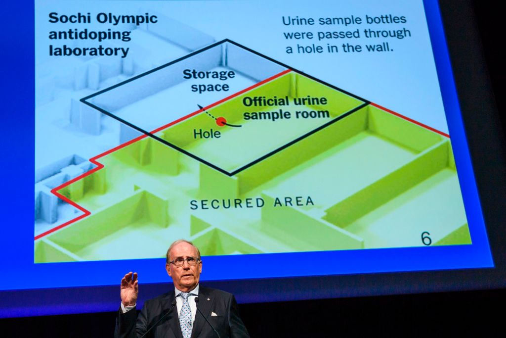 Canadian lawyer Richard McLaren, who produced a report for the World Anti-Doping Agency