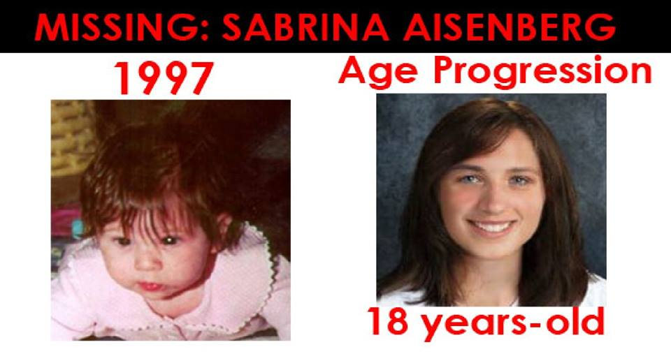 Sabrina Aisenberg Missing Child