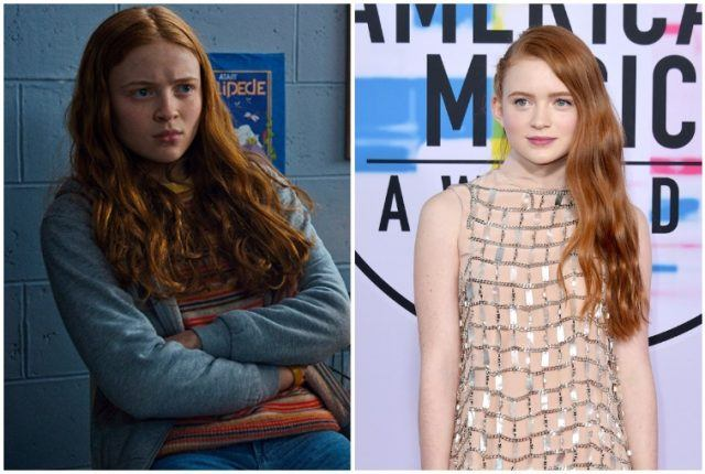 Sadie Sink collage.