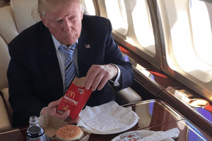 The Real Reason Donald Trump Always Eats Fast Food Will Make You Feel Bad for Him