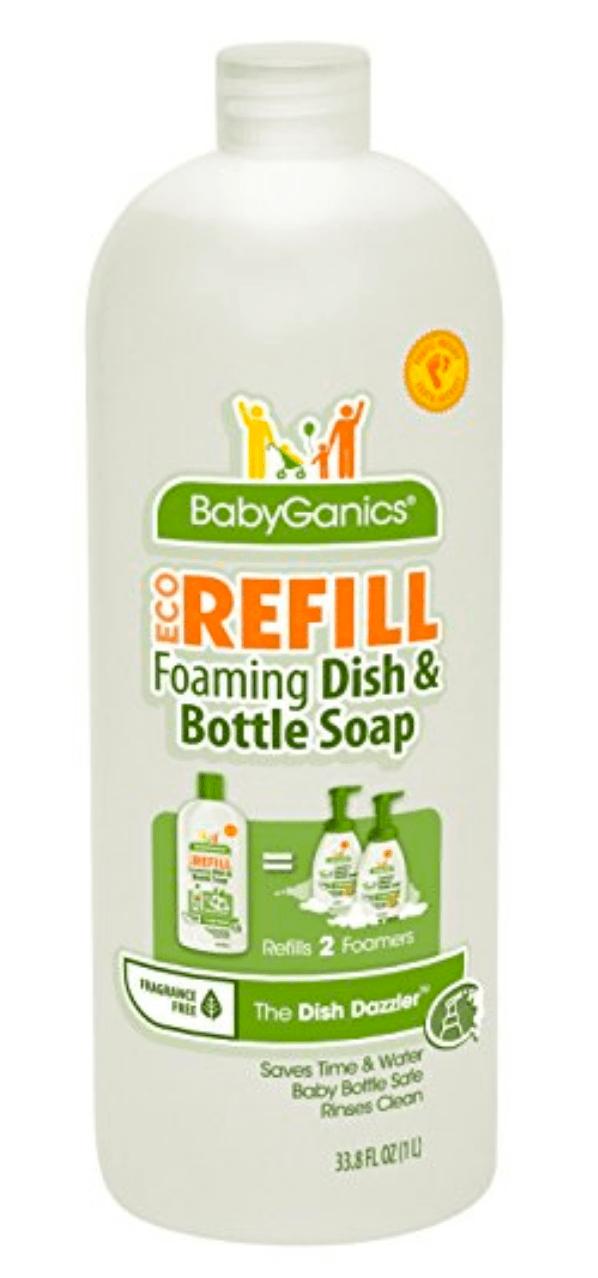 BabyGanics dish soap