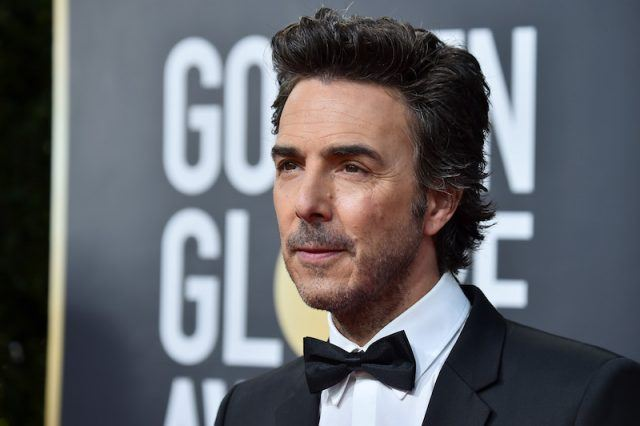 Shawn Levy standing in a tuxedo.