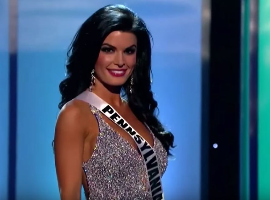 Miss Pennsylvania Sheena Monnin competes in the Miss USA Pageant.
