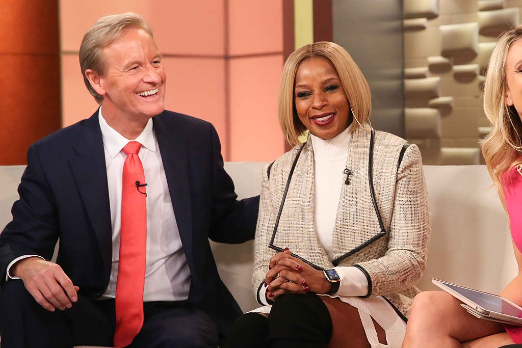 Steve Doocy and Mary J. Blige