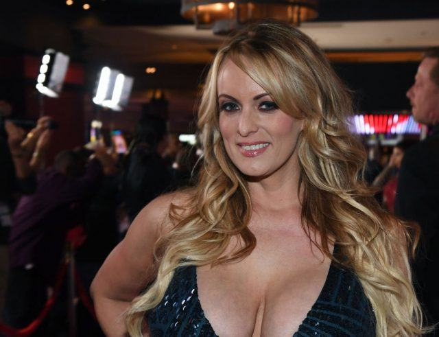 Stormy Daniels at an Adult Video Awards in Las Vegas.